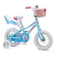 "2021 Mongoose Lil Goose Girls 12"" Bike - Blue"